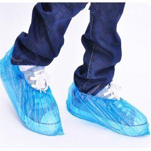 Boots Shoe Fabric Disposable Overshoe Indoor Carpet Floor Blue Cover Disposable Rain JXW606