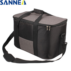 SANNE 34L Large capacity Waterproof Lunch Bag for Food Famous Brand Thermal Cooler Insulated Portable Tote Picnic Lunch Hot Bag C0125