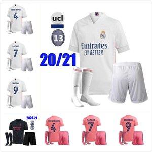 2020 Real madrid football Jersey Benzema JOVIC james Modric Ramos Bale HAZARD 20 21 adult man sports Soccer shirt