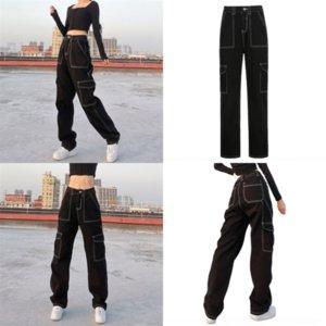 OCAF MaxNew Casl Fashion Spring Jeans Lady Korean Designer Para mujer Ripped Denim Pantalones Damas Vintage Vintage Jeans Pantalones Punk