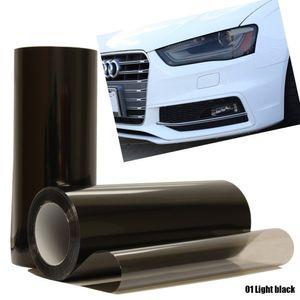 ¡Promoción! 30x60cm Car tinte de moda Faro Faro Trasalta Niebla Luz Vinilo Hoja Hoja Pegatina Pegatina Cubierta Coche Estilo para todos los coches
