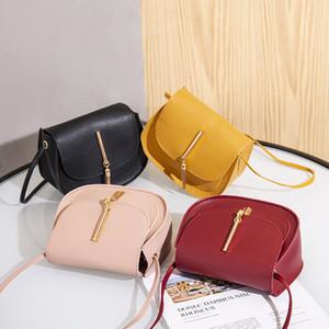 2020 여름 및 가을 새로운 한국어 패션 트렌드 숙녀 술 작은 사각형 가방 어깨 대각선 휴대 전화 코인 지갑