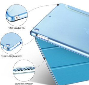 For Ipad Air 1 2 Mini 3 4 5 Pro 10.5 Inch Case Funda Ultra Thin Pu Leather Pc Hard Cover jllgJL car_2010
