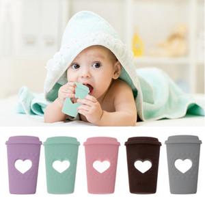 Casse à café Silicone Teherher BPA GRATUIT Silicone Bébé Baby Doition Perles Diy Bébé Dents Toy cadeau