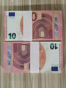 10 Euros Most Realistic Prop Copy Money Nightclub Movie Play Money Bank Note Business Fake Paper Money for Collection 40