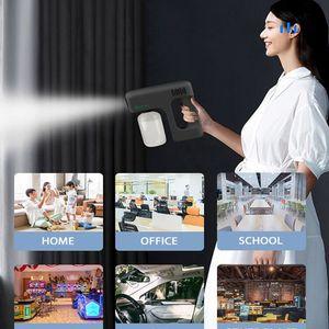 380ml Wireless Portable Blue Ray Sanitizer Nano Steam Spray Gun Sterilizing Sprayer Fog Machine for Home Office