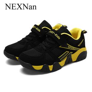 Nexnan respirável crianças sapatilhas para crianças sapatos casuais meninos sapatos meninas sapatos malha runing treinadores calçados escola 2020 y1118
