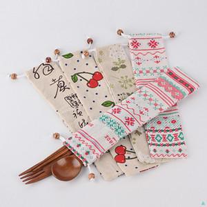 Factory Wholesale Chopsticks, Tableware Spoon Storage Bag, Portable Bag, Pocket, Beam Chopstick Bags