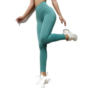 Yoga Pants Women INS Hot Sale New Seamless Gym Workout Suit Yoga Leggings Set For Women