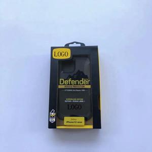 Mit logo defender designer telefon case für iphone 12 11 pro 11 xs max xr 8 7 6 plus hybrid roboter robuster fall