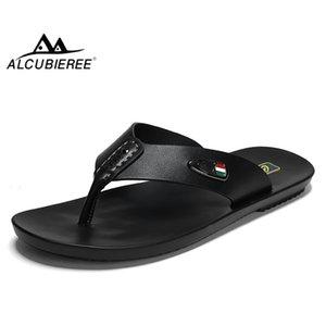 Alcubieree Summer Mens sandalias transpirables para hombre para hombre chanclas casuales.