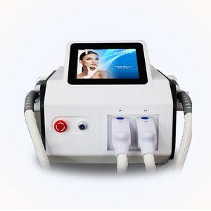 newest portable 2 handles painless laser hair removal shr skin rejuvenation IPL permanent hair removal machine