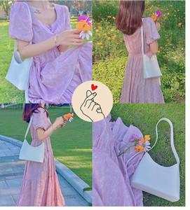 Saco de Superarme Pu Bolsas Mulheres 2020 New Maré Online Bucket Nicho Design Saco de Ombro Messenger Bag