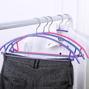 Sturdy Hanger Prevent Clothing Deformation Coat Hangers For Non Slip Clothes Rack Firm Durable Reusable Many Colors 1 9sq ZZ