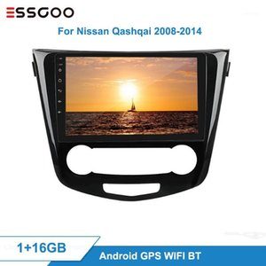 Essgoo 2 DIN Android Car Radio Central Multimedia Video Player para Qashqai 2008-2014 Auto estéreo GPS Navegación autoAudio1