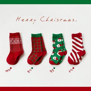 2020 new Christmas baby socks cartoon kids socks cute cotton girls socks boys sock keep warm children sock kids clothes wholesale B3281