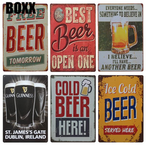 Guinness Wine Metal Wall Art Tin Sign Vintage Free Beer Signs Irish Pub Cafeteria Kitchen Decor Shabby Chic Posters And Prints