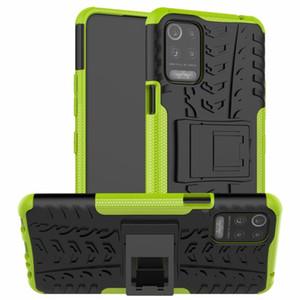 Hybrid Phone Cases For LG K52 K62 K71 Q52 Hard Case Armor Soft Protection TPU Gel Skin Stand Silicon LG K92 K42 5G Cover