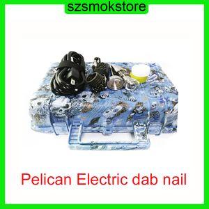 E Nail Pelican Electric DAB Clavo Enlail Controlador cera PID TC Caja con titanio 10/16/20 mm Domeless con clavo de titanio 0268055