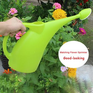 2L Potted Home Patio Practical Ecofriendly Kettle Plant Sprinkler Gardening Watering Can Tool Long Mouth Handle With Shower