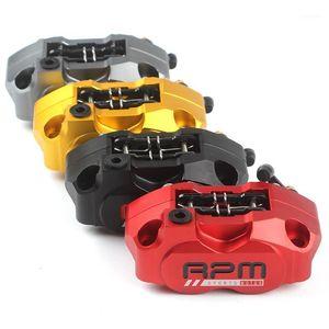 Мотоцикл тормозной суппорт тормозной насос 84 мм монтаж 4 поршневой радиал для скутера RSZ Jog Force Dirt Bike Modify1