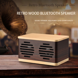 D70 Wireless Charging Wooden Bluetooth Speaker Mobile Computer Desktop Creative Multifunctional Small Speakers TF Card For Music