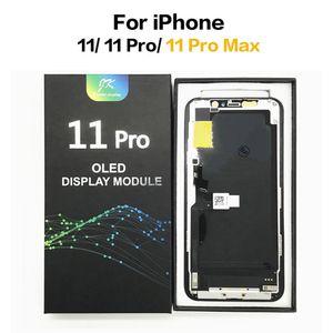 OLED LCD لفون 11 برو ماكس lcd عرض incell tft لمس الشاشة محول الأرقام استبدال الجمعية