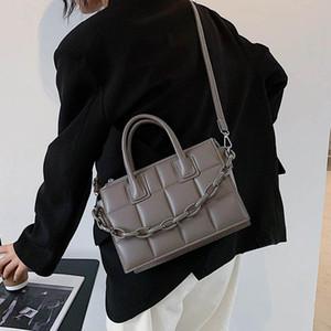 Autumn And Winter Retro Chain Handbag 2021 New Fashion High Quality PU Soft Leather Women's Designer Shoulder Messenger Bag