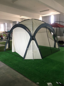 Waterproof and convenient outdoor pavilion single layer tent large space outdoor pavilion tent