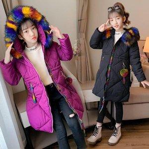 2020 girls down hoodie kids doudoune winter coat dress jacket s costume designer sweater sweater coat 005