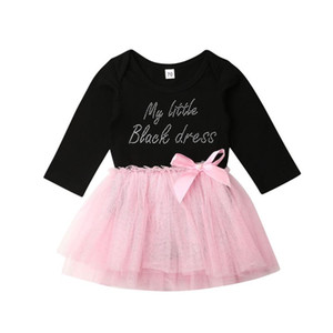 Cute Baby Girl Dress Long Sleeve Bodysuit Dress Party Pageant Tutu Wedding Christmas Gift 3-18Months