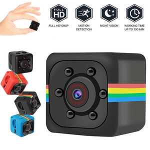 SQ11 Mini Camera HD 1080P Sensor Night Vision Camcorder Motion DVR Micro Camera Sport DV Video Small Outdoor Indoor Security Camera