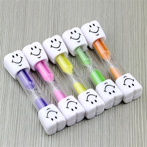 Smiley Children Kids Toothbrush Timer Hourglass Sand Clock Egg Timer 3min Timer For Tea Cafe Timekeeping Hourglass 83 G2