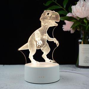 Creative Gift Jellyfish 3d Night Light New Strange Smart Home Bedroom Bedside Induction Led Table Lamp