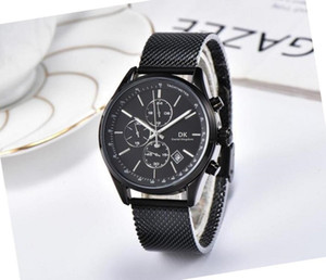 All small dial work kingdom watches top luxury mens watches 42mm quartz Stainless steel water resistant sports wristwatches