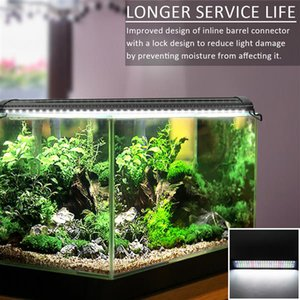 New 18W 78LED Full Spectrum Water Grass Lamp 23.6inch Black US Standard ZC001220 (Suitable For 23.6-31.49inch Long Aquarium)