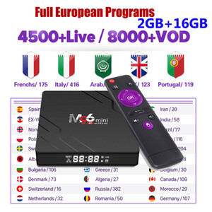 stable smart tv box M96 mini 2GB ram 16GB rom android 9.0 dual WIFI europe m3u tv box pk x96 mini