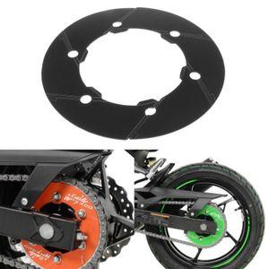 Aluminum Motorcycle Refit Transmission Belt Pulley Cover for Kawasaki NINJA400 2018-2020