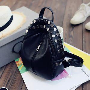 Mini Rivets Women Classic Backpack Children Girl School New Trend Shoulder Bags Female