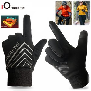 Luxury-1 Pair Touch Screen Soft Winter Gloves Men Women Warm Waterproof Windproof for Running Cycling Climbing