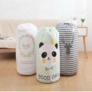 Moisture-proof Bundle Clothing Storage Bag Waterproof Quilt Bag Large-sized Clothes Sorting Storaging Bag Closet Organizer Pouch Z610