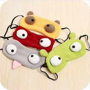 Cartoon lustige schlafende Augenmaske schlafende Schatten Baumwolle Augen abdecken Party niedlichen Augenbinde Augenmaske HHA1698