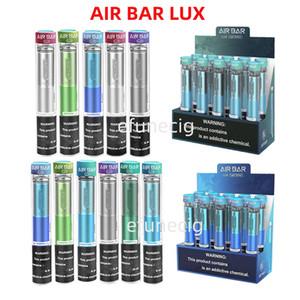 Airbar Air Bar Lux Descartável Vape Pen 1000 Puffs 500mAh Bateria Airbar PODs Pré-preenchido Vapor Vapor Dispositivo E Cigs Portátil Kits Vaporizador