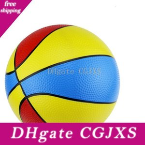 22cm Colorful Inflatable Bouncing Balls Rubber Kids Basketball Educational Toy Ball Outdoor Toys