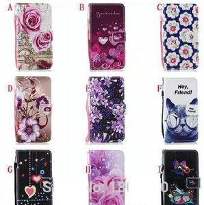 Çiçek Kayışı Cüzdan Deri Kılıf Samsung Not 20 Ultra S30 Artı A11 A01 Core M31S A51 5G A71 Baskı Gül Paris Aşk Standı Kart Kapak Olun
