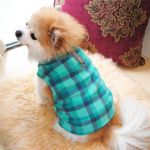 Fashion New Pet Dog Cat Villus Warm Vest Puppy Doggy Apparel Cloth puppy outfit pet clothes fleece sweater supplies A30723