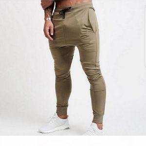 2019 Men Joggers Casual Pants Men High Quality Spring Long Sweatpants Elastic Male Trousers Mens Joggers