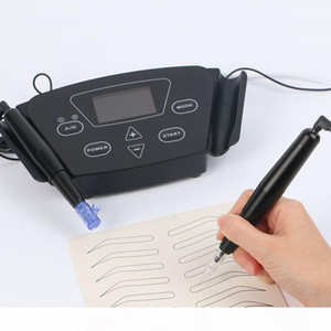 Professional Tattoo Black Pearl Machine Set Embroidery Eyebrow Tattoo Machine Pen for Semi-permanent Makeup Microblading eyebrow
