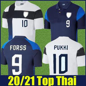 2020 2021 Finlandia Soccer Jersey National Team Forss Pukki Jersey Football Suomi Jensen Niskanen Kauko Camicie da calcio Uronen Kamara Uniform