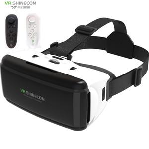 VR Shinecon Box VR Glasses Glasses Glasses Virtual Realtà Occhiali VR Auricolare per Google Cardboard Smartp LJ200919